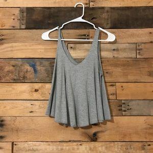 Grey swingy top
